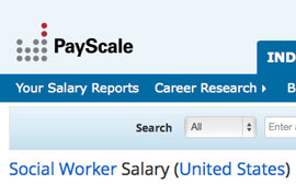social worker salary united states campus explorer - What Is The Job Outlook For A Social Worker