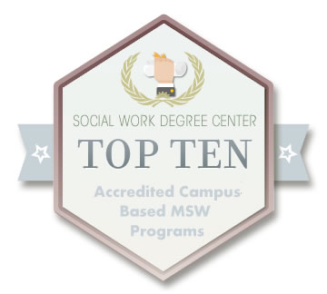 Top 10 Accredited Msw Programs On Campus Social Work