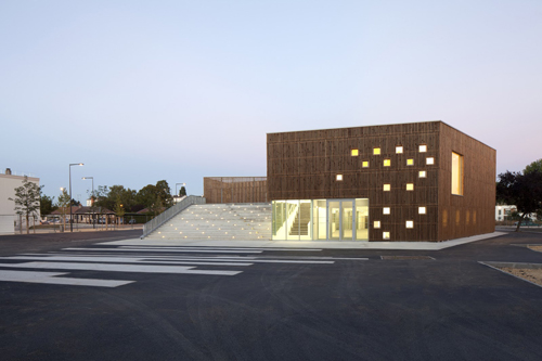 14. Cultural Center – Nevers, France