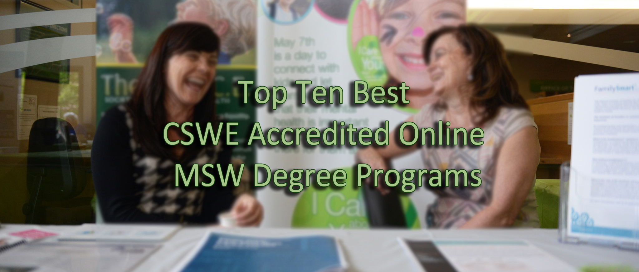 Msw Online Programs >> Top Ten Best Cswe Accredited Online Msw Degree Programs Social